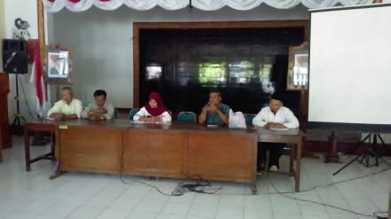 Evaluasi Penyelenggaraan Program DB4MK Desa Tirtosari Tahun 2018